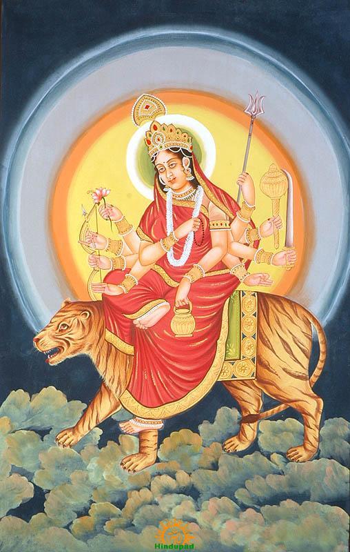 Chandraghanta Puja Vidhi | Maa Chandraghanta Pooja Method - HinduPad
