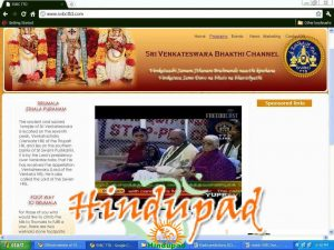 TTD's Sri Venkateshwara Bhakti Channel - SVBC official website