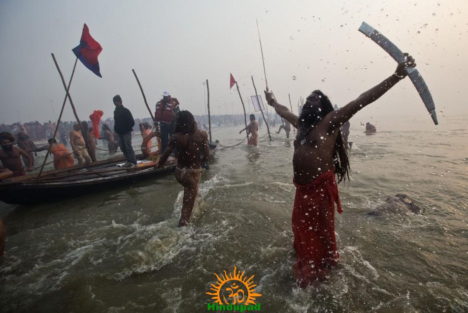 Sadhu at Kumbh Mela 2013