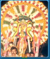 Hamsavahanam in Kanipakam Varasiddhi Vinayaka Swamy Temple
