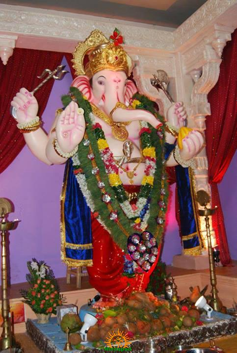Parel Lal Maidan Saarvajanik Ganeshotsav Mandal Ganpati Bappa 2013
