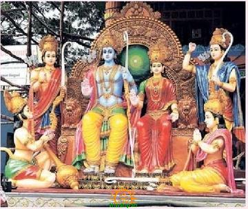 Sri Rama Pattabhishekam at Khairatabad Ganesh 2013