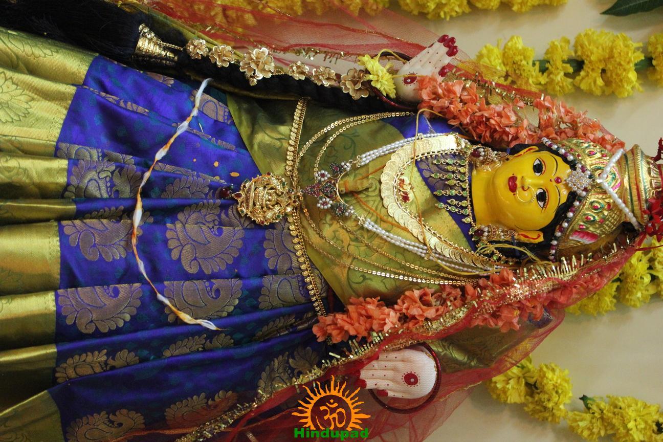 Varalakshmi Vratham Decoration design 20 - Hindupad